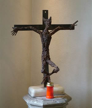 Cross in the Trinity Chapel